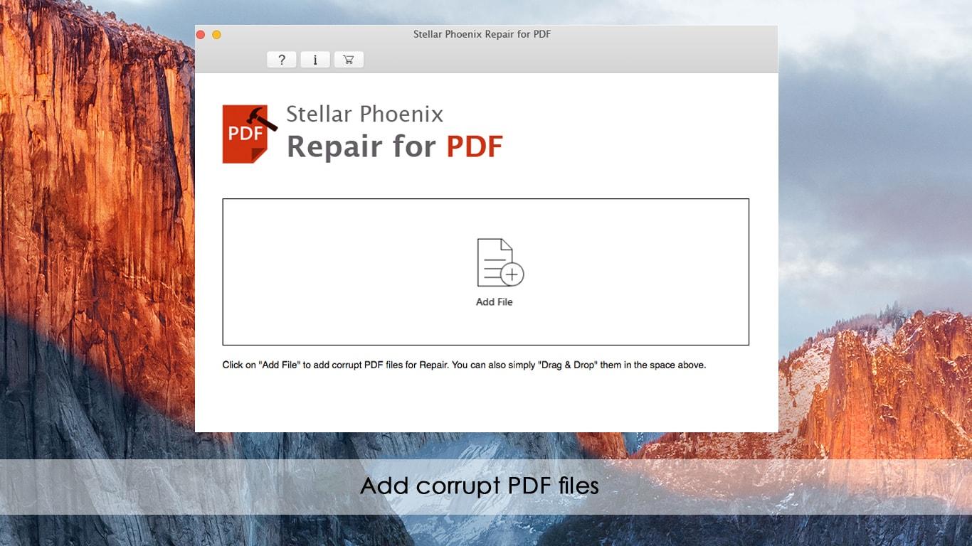 Stellar Phoenix Repair for PDF