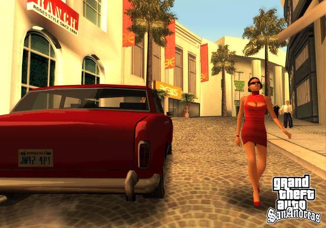 GTA: SAN ANDREAS  - O jogo inclui as cidades de San Fierro  e Las Venturas
