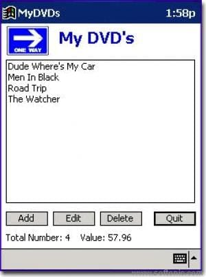 My DVD's