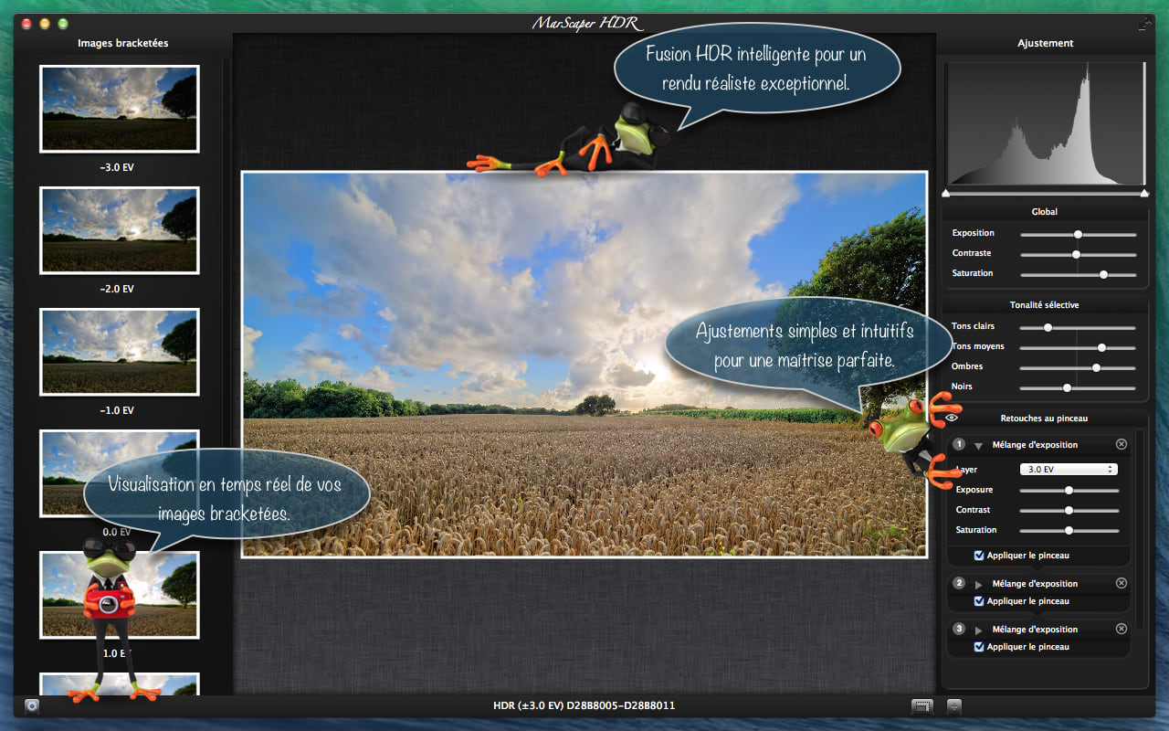 MarScaper HDR