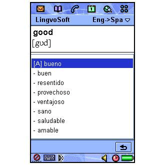 LingvoSoft English-Spanish-English Dictionary
