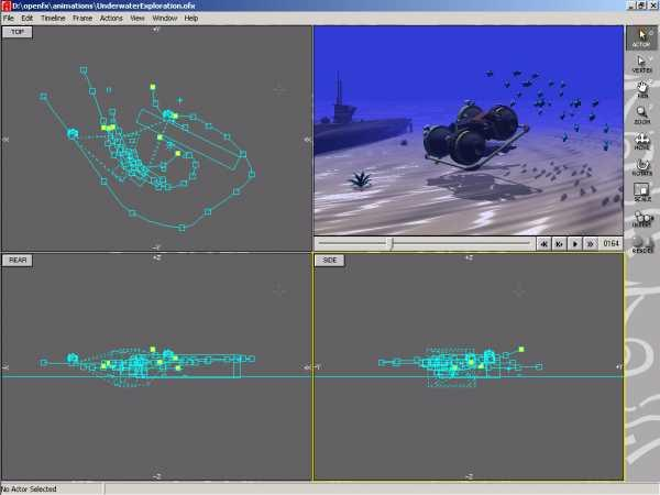 OpenFX: Model, animate and render with this open and free software