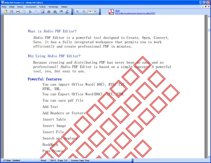 Abdio PDF Reader
