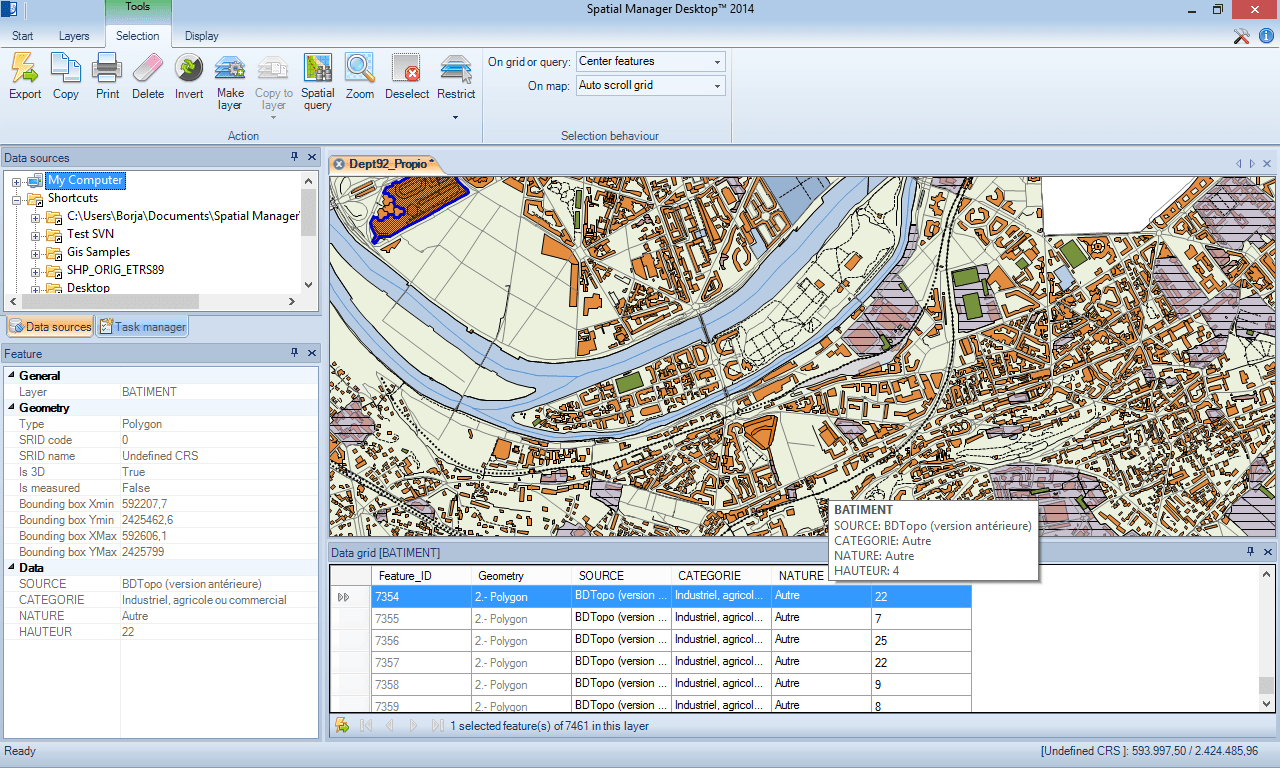 Spatial Manager Desktop
