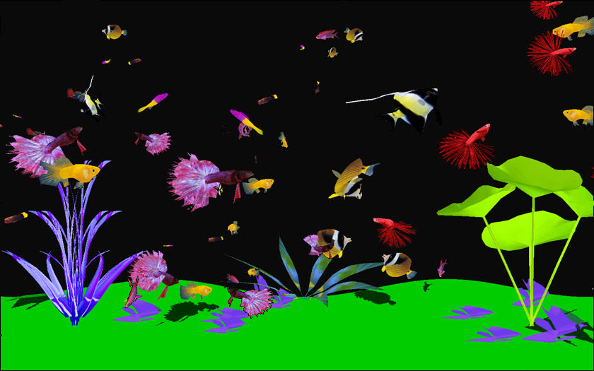 Digital Aquarium Screensaver