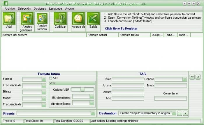 4musics Mp3 Mmf Converter