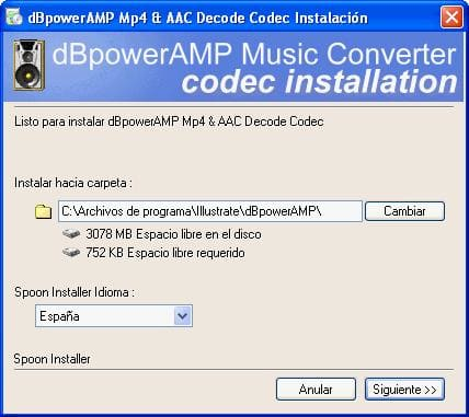 dBpowerAMP mp4 & AAC Decoder