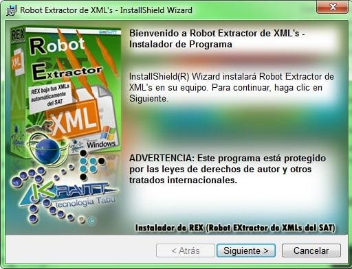 Robot Extractor de XML