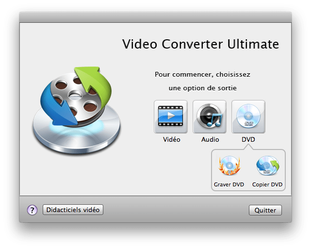 Wondershare Video Converter Ultimate pour Mac