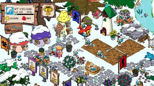 Le Village des Schtroumpfs