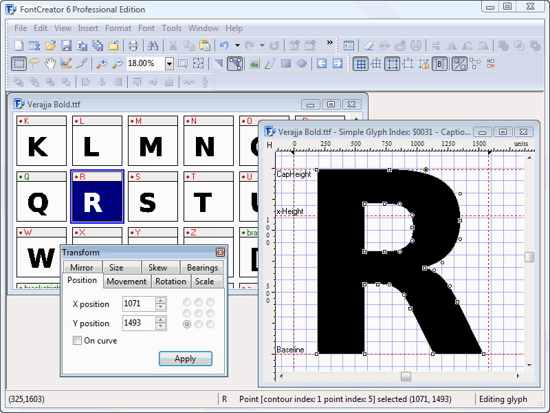 Font Creator Program 6.2