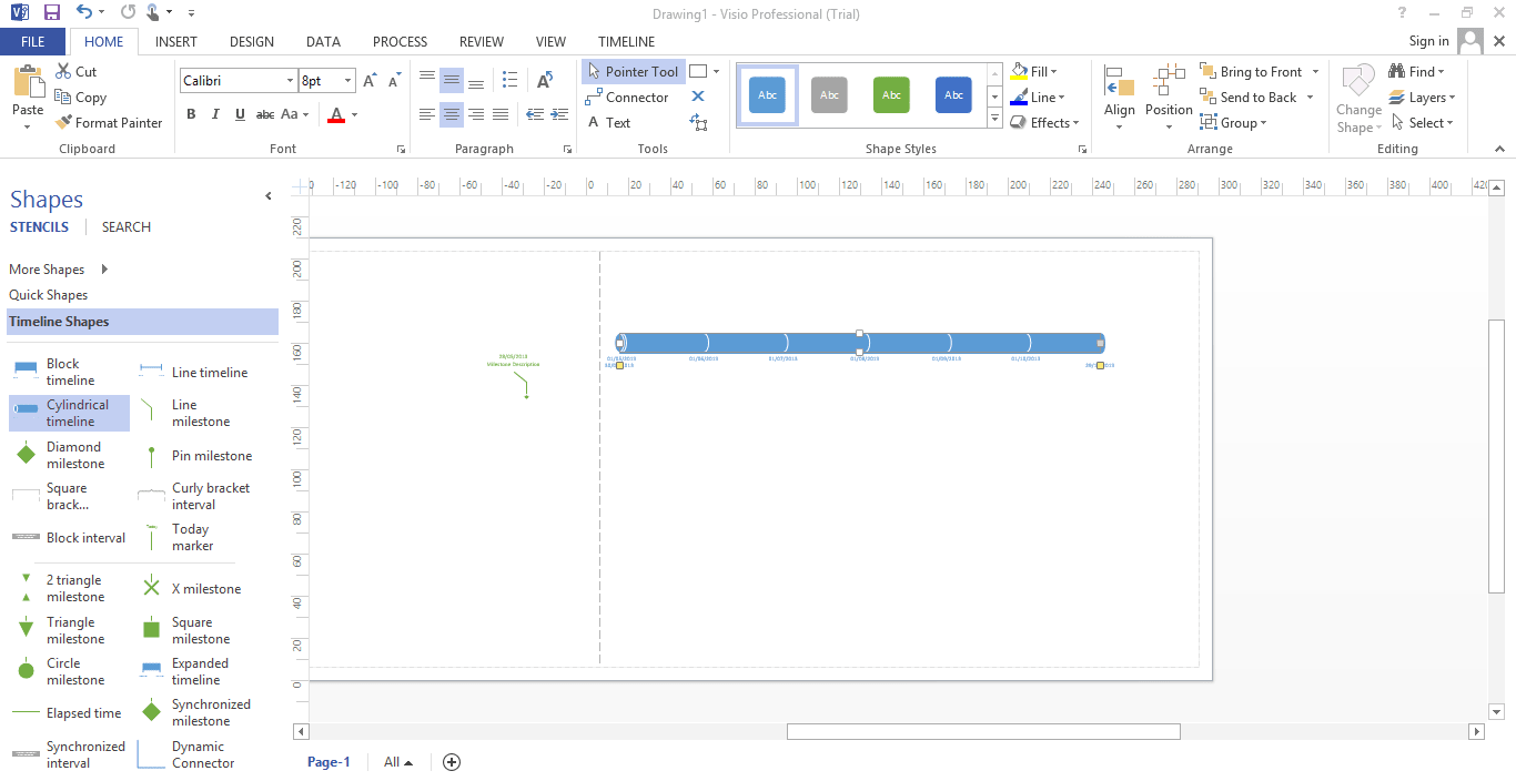 office visio 試用 版