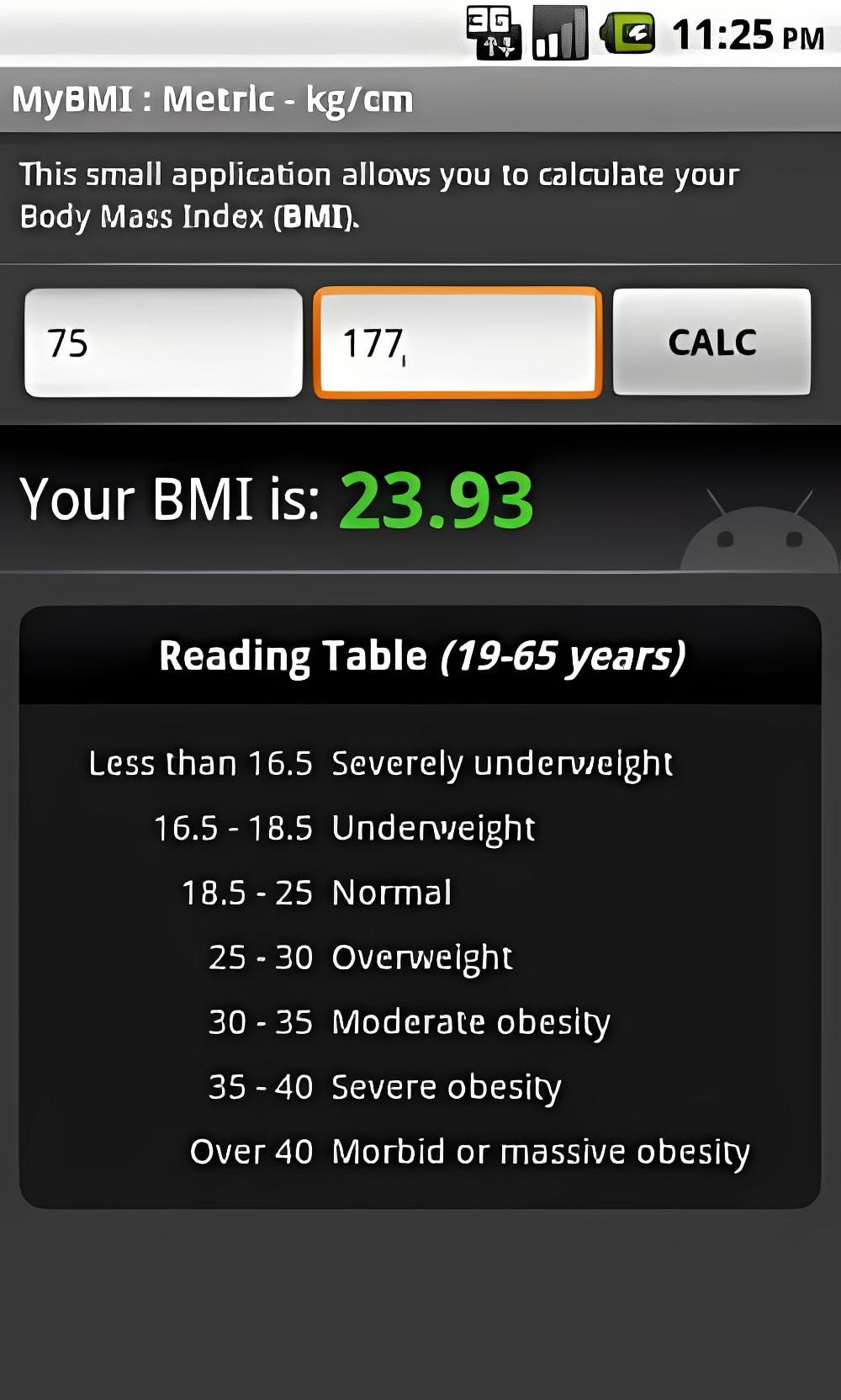 MyBMI (BMI Calculator)