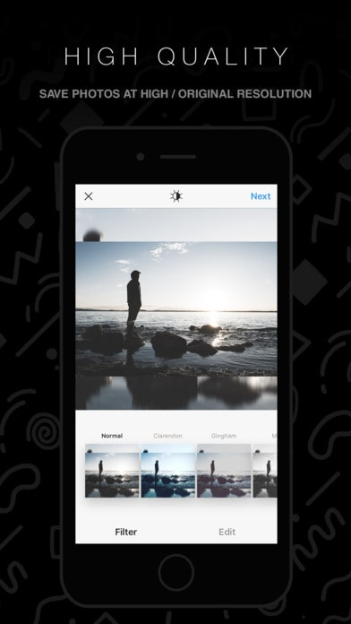 InstaFit - Post Photos Without Cropping
