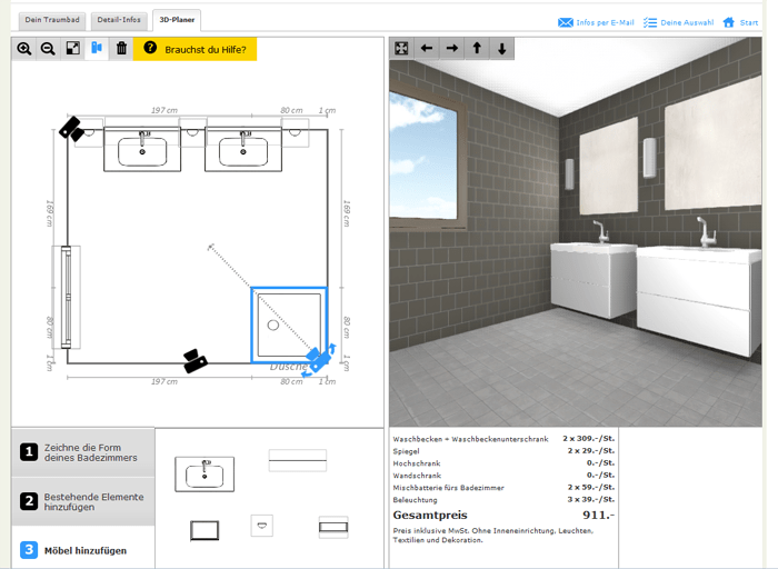 Ikea k chenplaner online for Zimmer planen software
