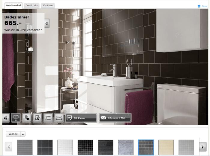 Badezimmerplaner  IKEA Badezimmerfinder Online