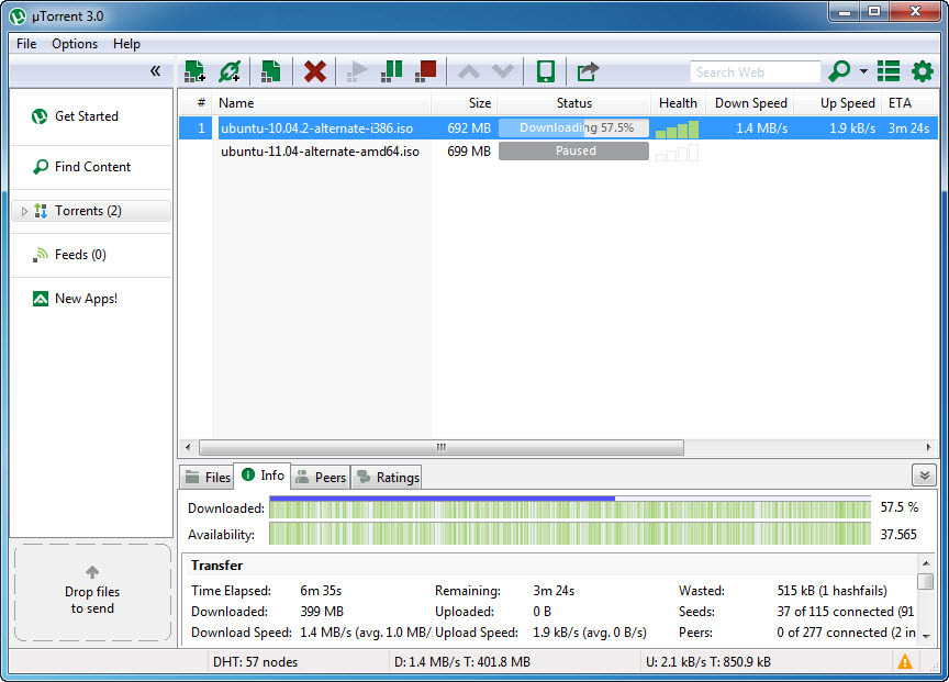 free downloading of utorrent