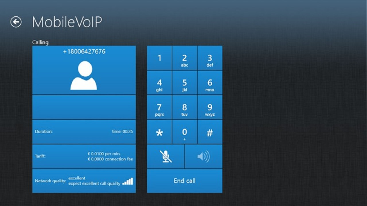 MobileVOIP for Windows 10