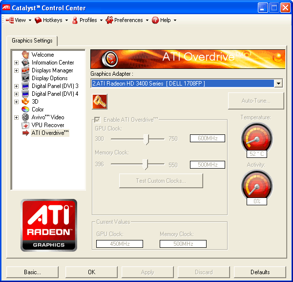ATi Catalyst Drivers (32-bits)
