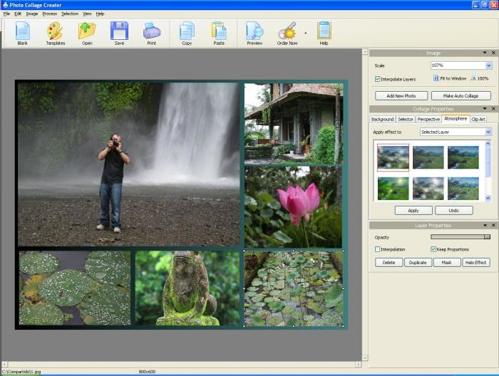 Photo collage creator descargar for Collage foto online gratis italiano