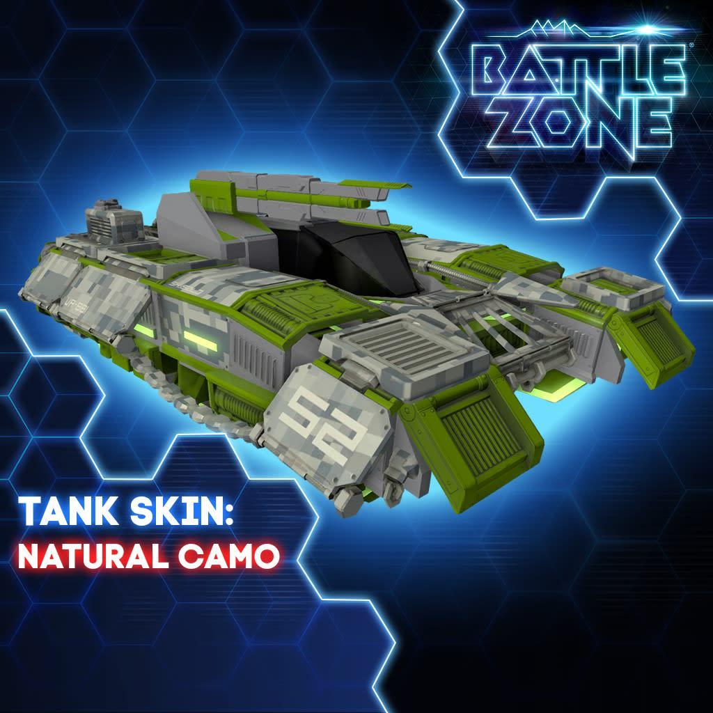 Natural Camo Tank Skin PS VR PS4