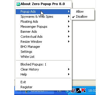 Zero Popup Killer