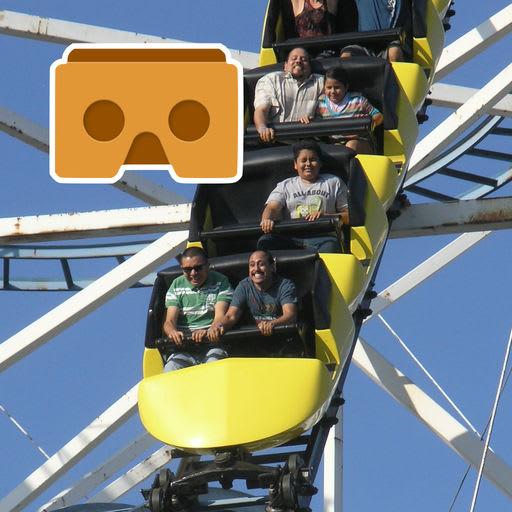 Virtual Reality Roller Coaster for Google Cardboard VR