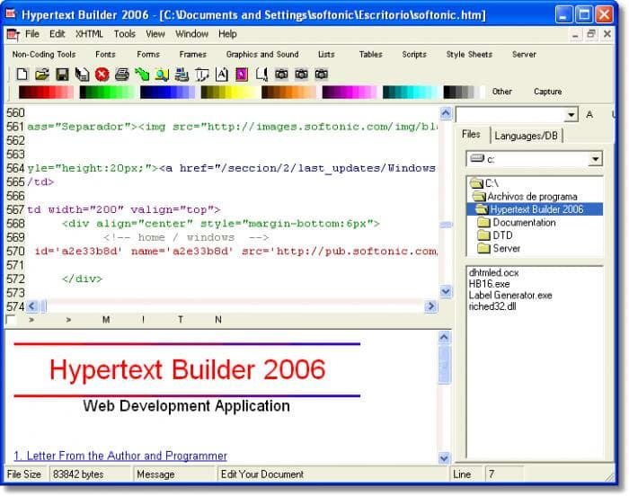 Hypertext Builder