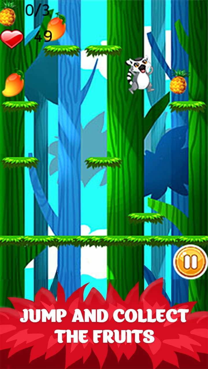 Jungle Rush - Funny Lemur Adventure
