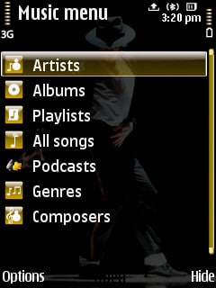 Michael Jackson Tribute Nokia Theme