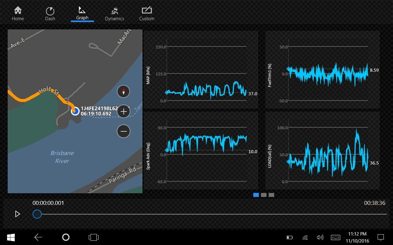 OBD dash.csv Analytics