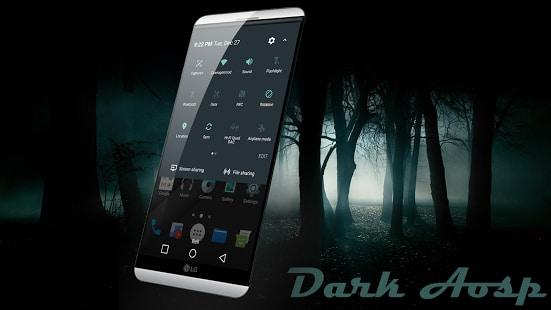 Dark Aosp Theme for LG V20 G5