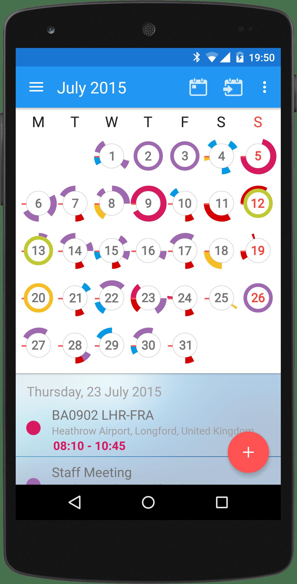 CloudCal Calendar