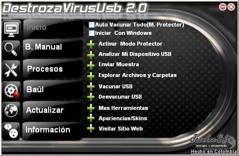 DestrozaVirusUsb Antivirus