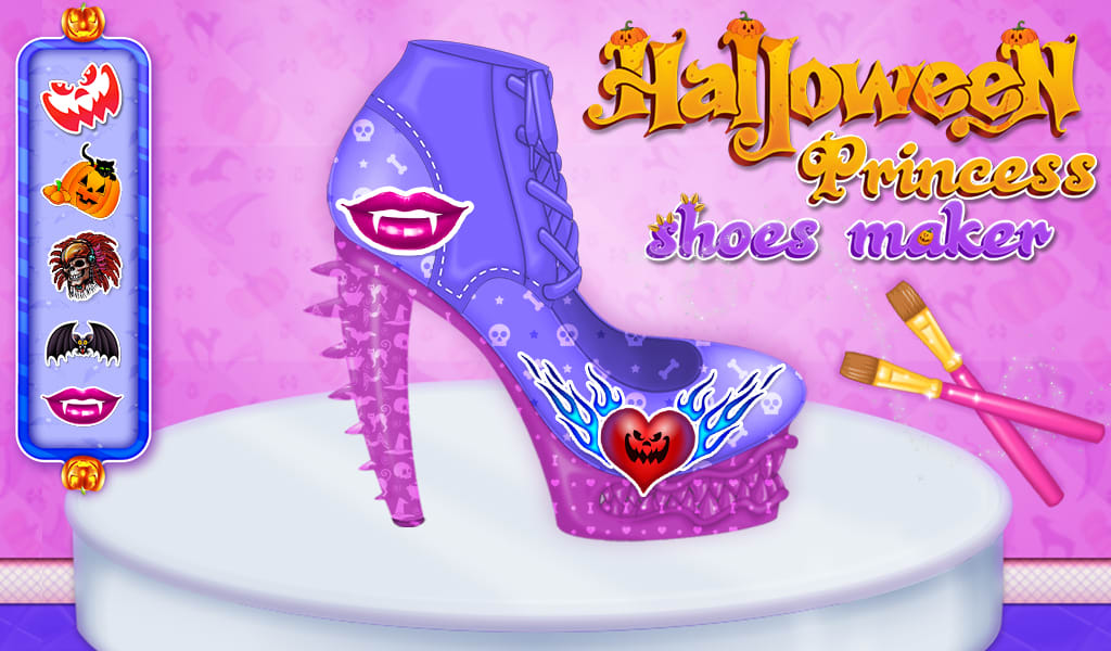 Halloween Princess Shoes Maker