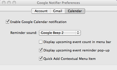 Google Notifier