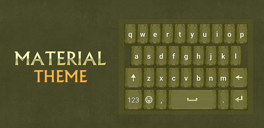Material Keyboard Theme