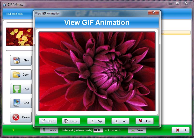 SSuite Gif Animator