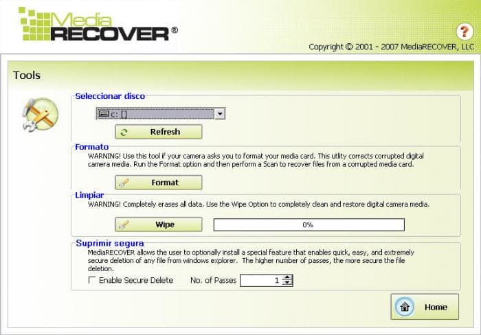 MediaRecover Image Recovery