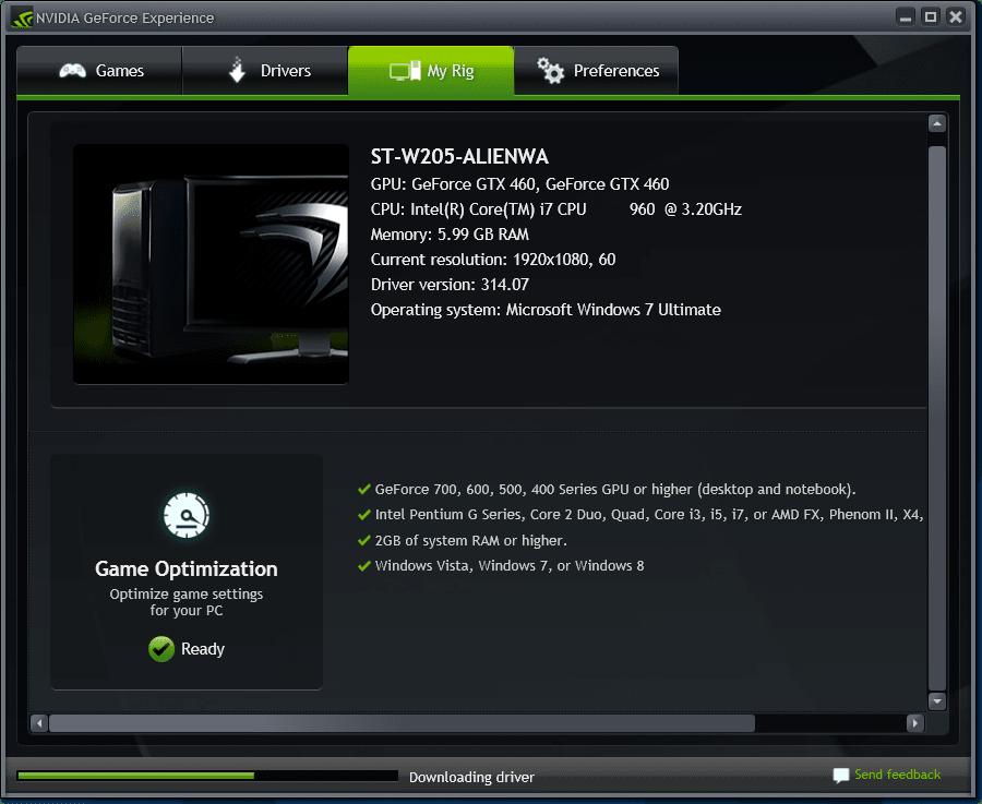 GeForce Experience - Download