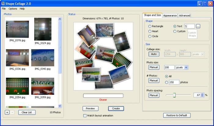 Fotor Shape Collage – Free Online Shape Collage Maker | Fotor ...