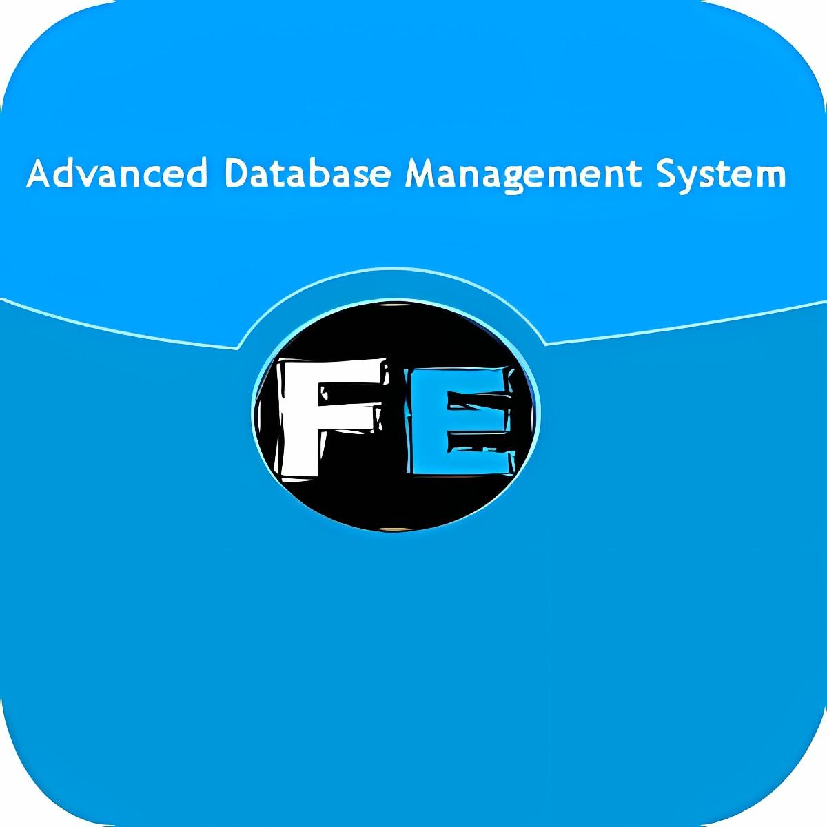 Advanced Database Management 1