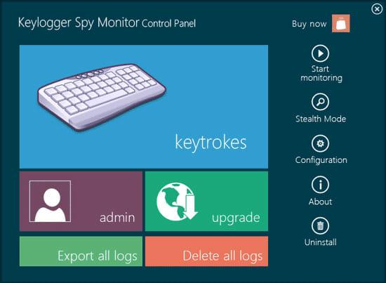 Keylogger Spy Monitor