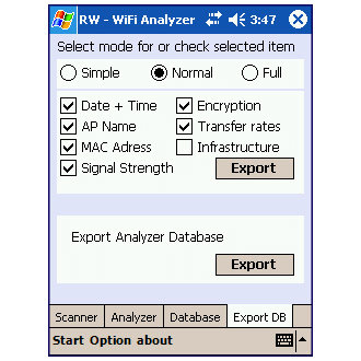 Ir a  WiFi Analyzer