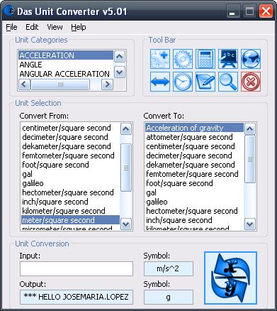 Das Unit Converter