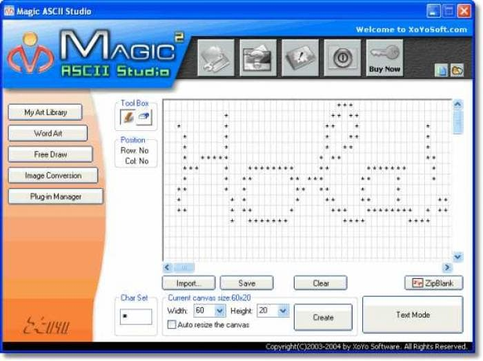 Magic ASCII Studio