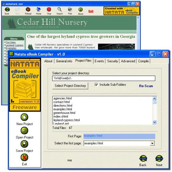 Natata eBook Compiler