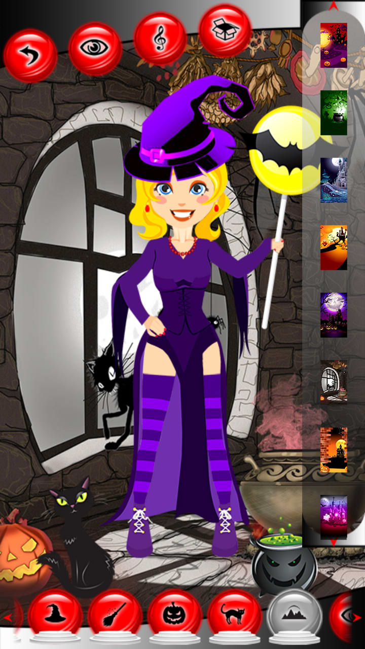 Halloween Dress Up Games