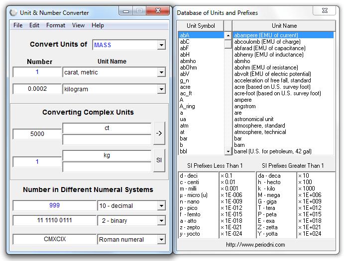 Unit & Number Converter