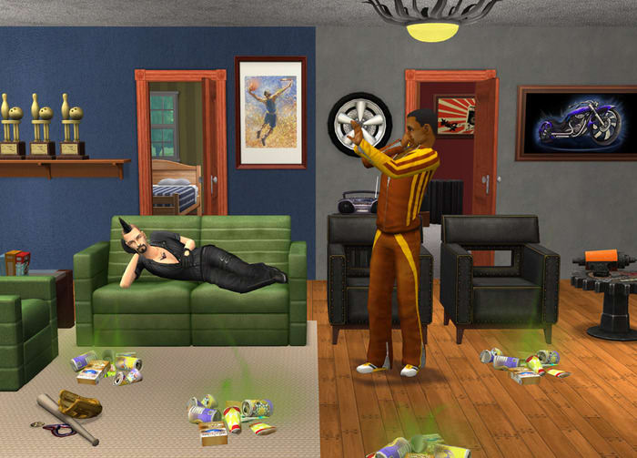 The Sims 2: Live with friends